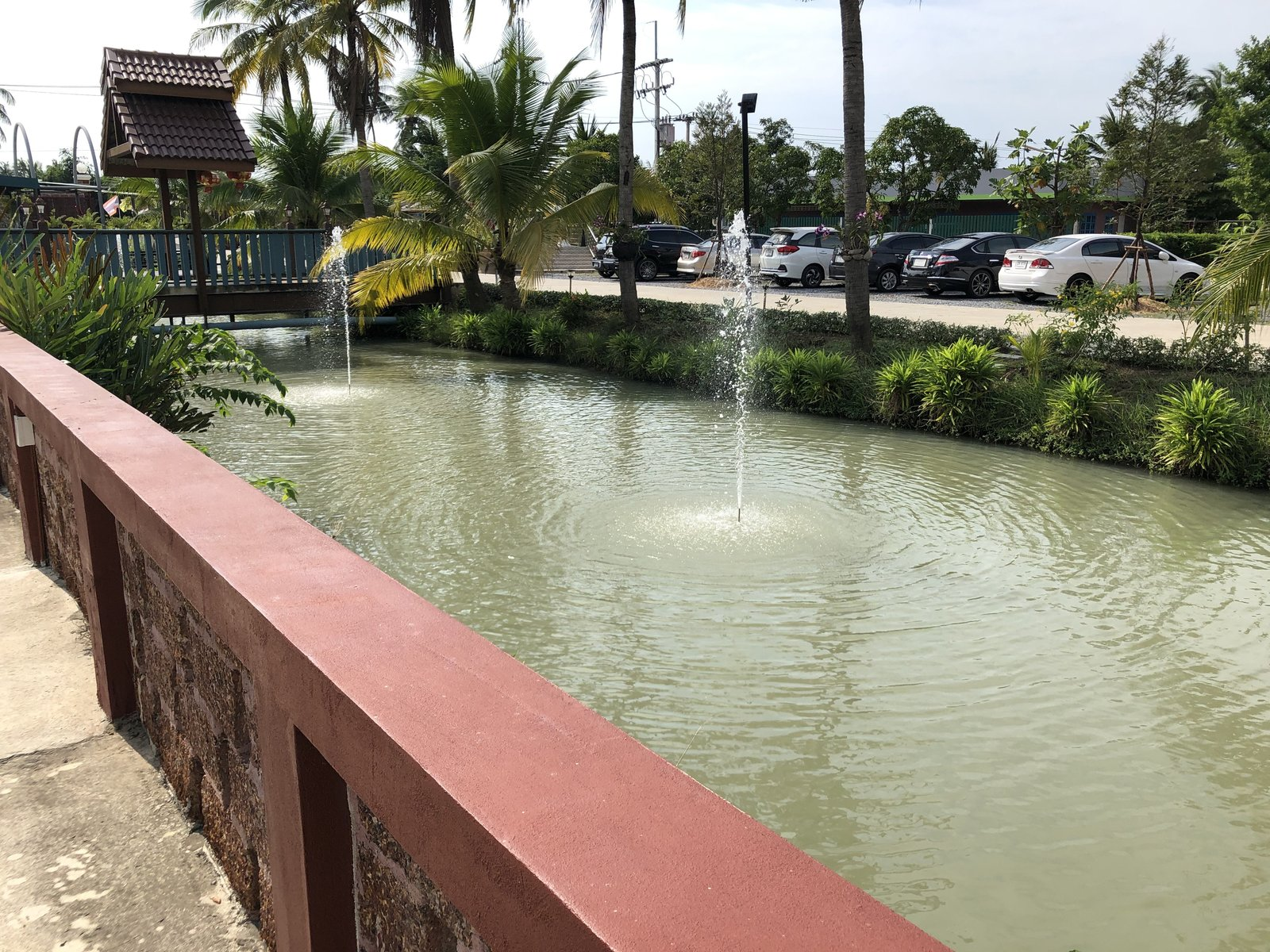 Water area in Nakhon Pathom