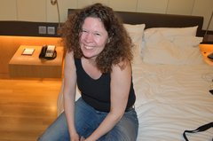 Stef at the Hotel