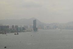 Victoria Harbor Wan Chai Pier