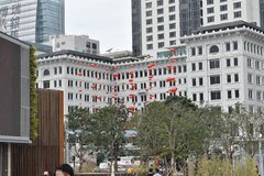 Red Chinese Balloons at the Peninsula Hotel in Hong Kong