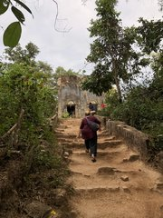 On the way to an old Temple in Sangklaburi
