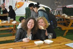 Tracy and Stef at the Fair